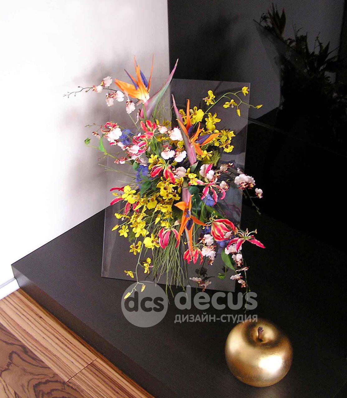 Настенные композиции цветов фото